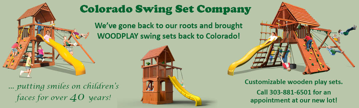 Rubber mulch for your colorado swing set