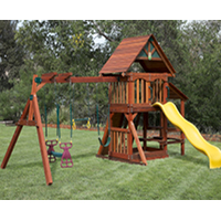wooden swing set 2